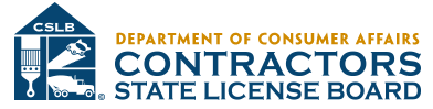 California State Contractors License Board